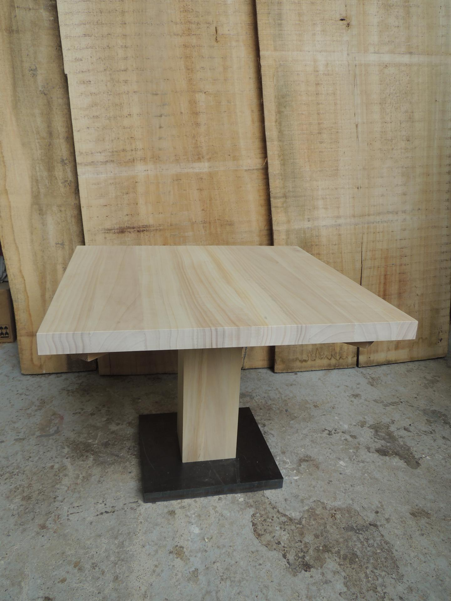 coffee table design - poplar -  www.ateliercannelle.com