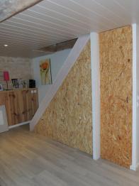 www.ateliercannelle.com - agencement sous escalier  - Atelier Cannelle -