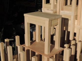 www.atelier cannelle, tabouret en peuplier