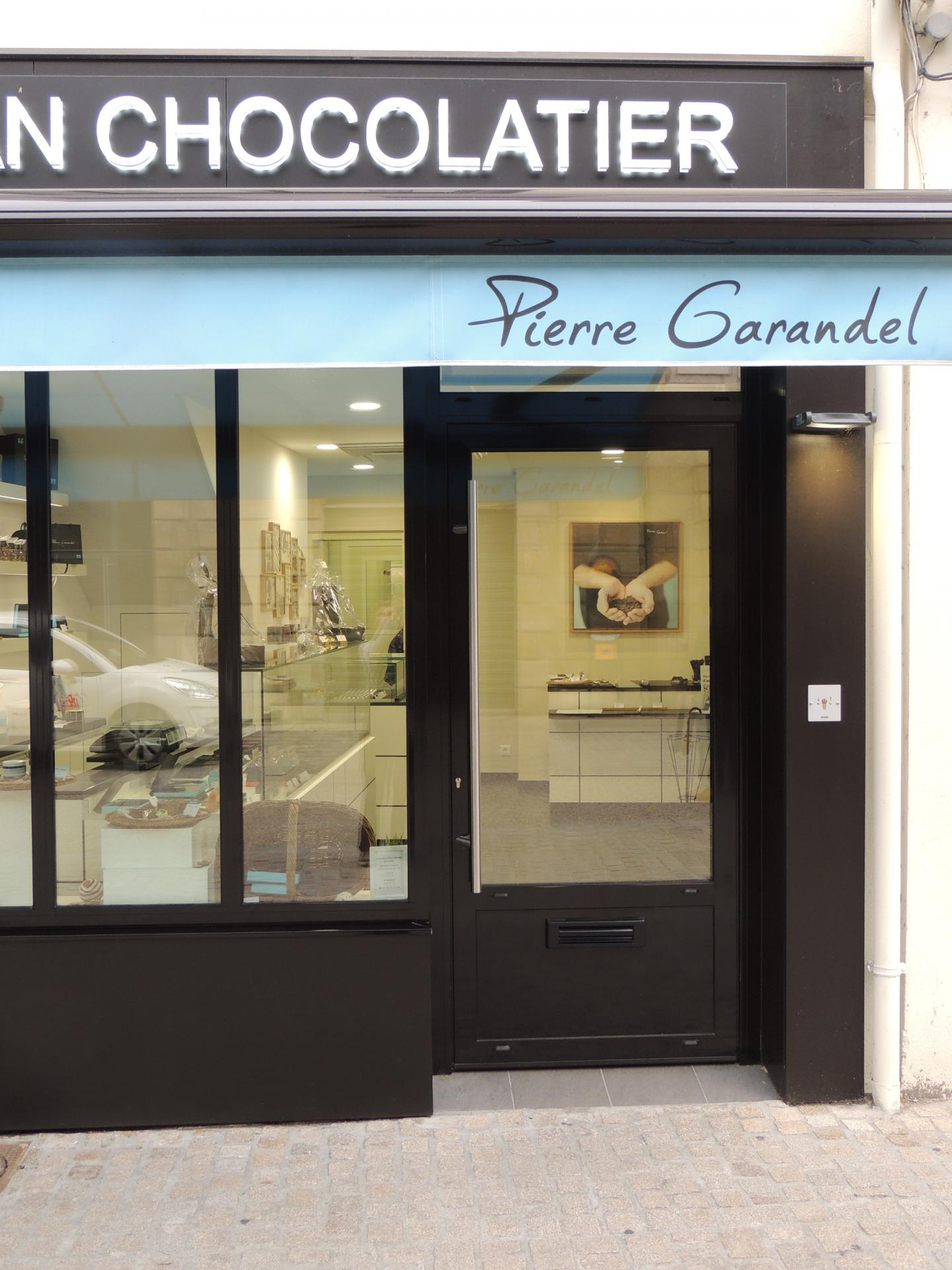 Boutique Pierre Grandel chocolatier Niort