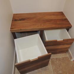 banc de salle de bain