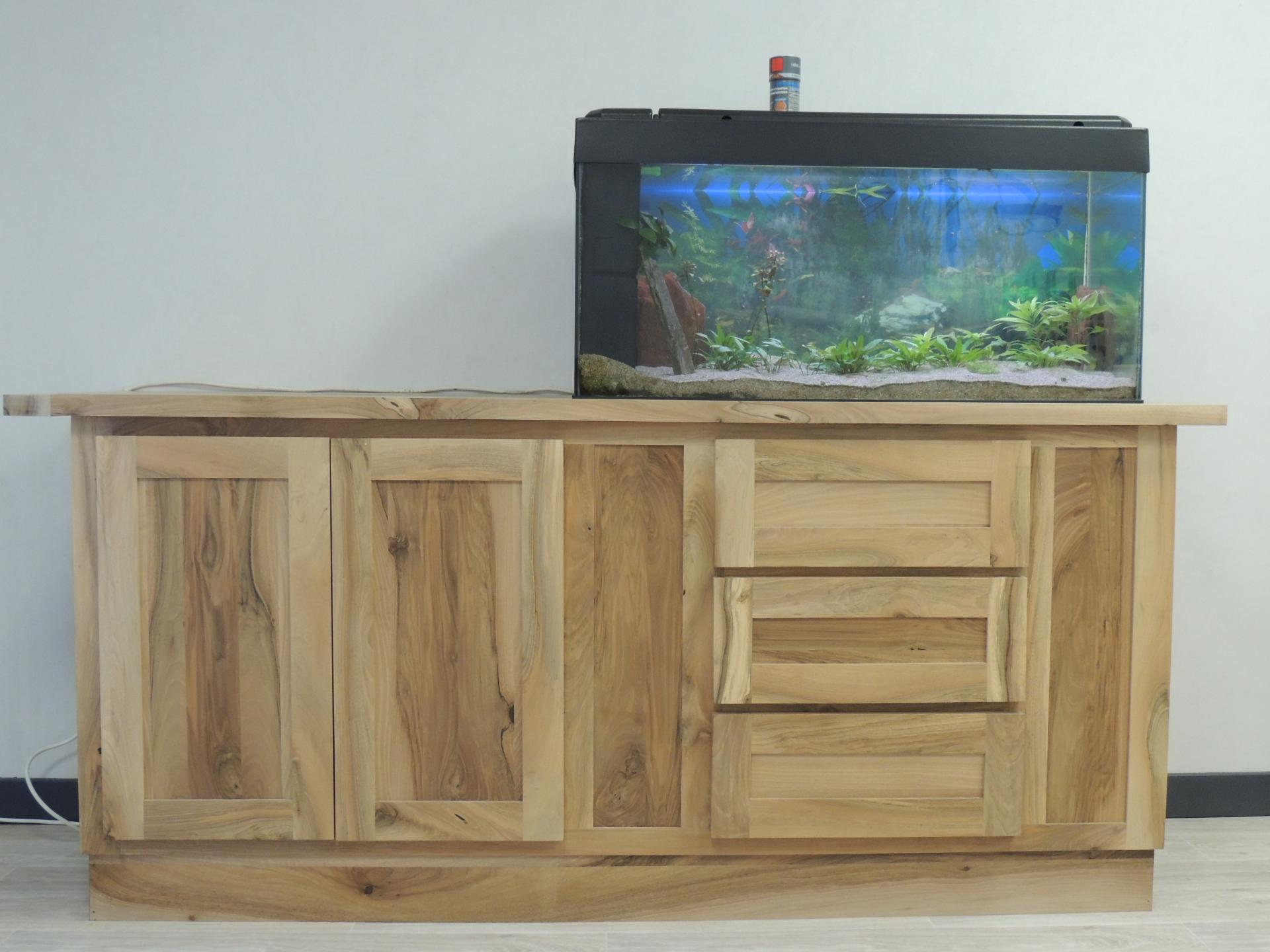 www.ateliercannelle.com - meuble aquarium - Atelier Cannelle -