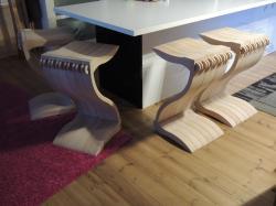 "Chaise ""Z"" - www.ateliercannelle.com"