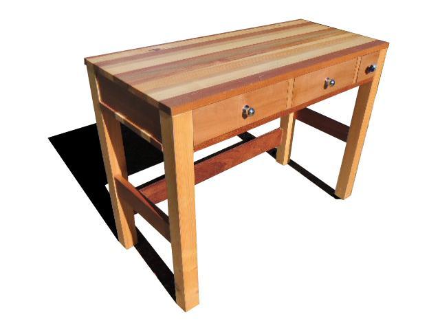 http://www.ateliercannelle.com/en/ - mixed woods desk
