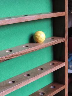 www.ateliercannelle.com, présentoir balles de golf