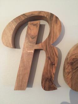 www.ateliercannelle.com, lettre en bois