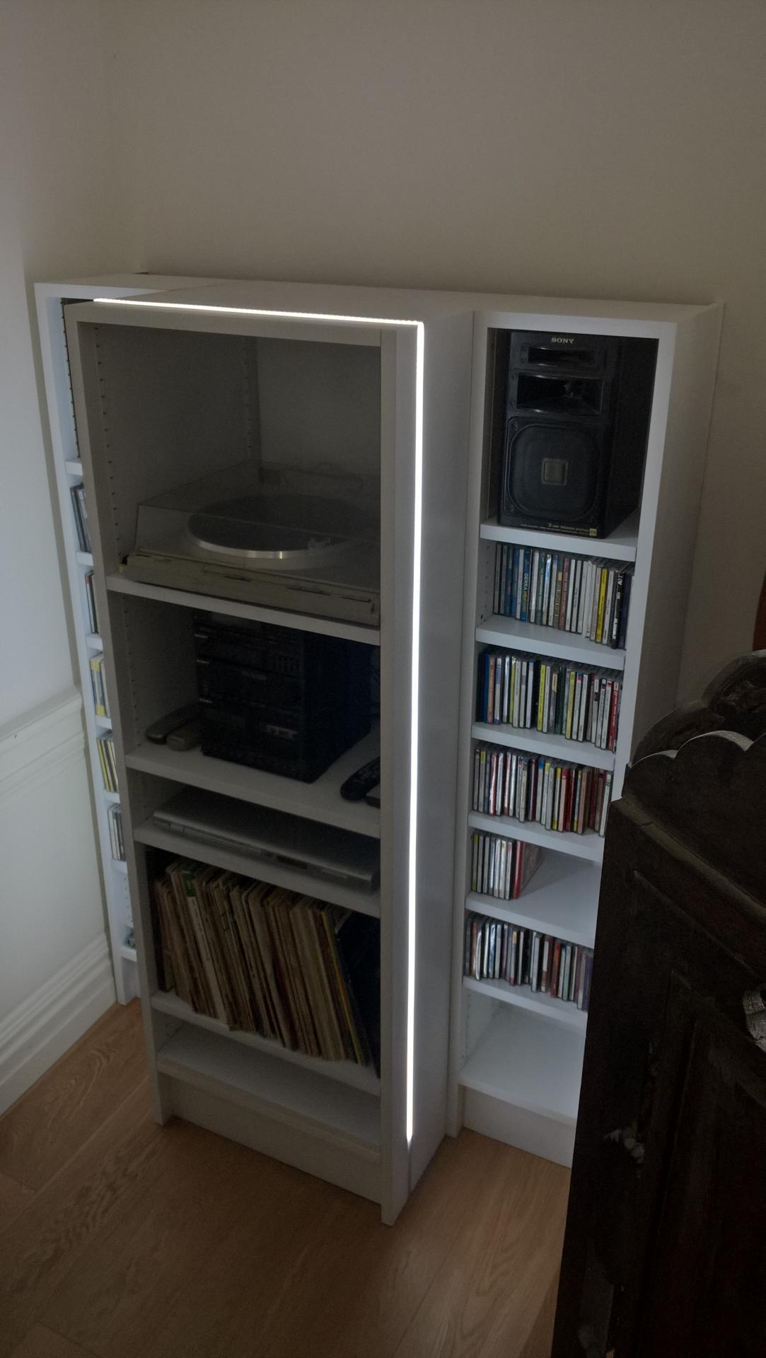 meuble hi fi avec 33 tours - www.ateliercannelle.com
