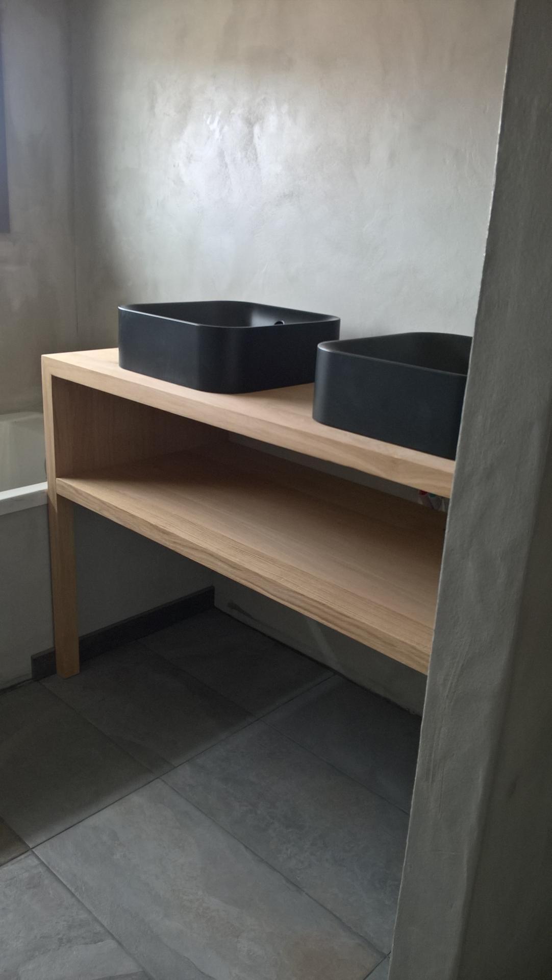 meuble salle de bain - www.ateliercannelle.com