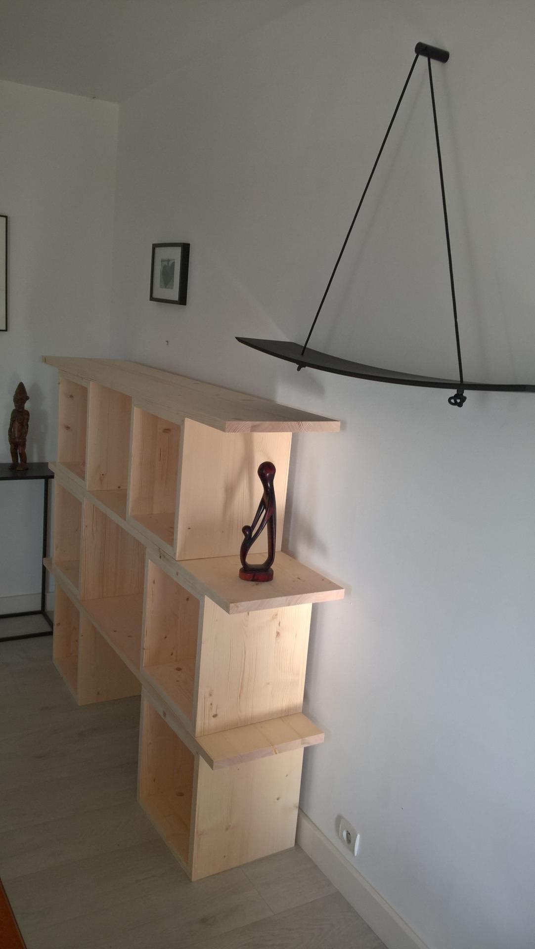 bibliothèque modulable www.ateliercannelle.com